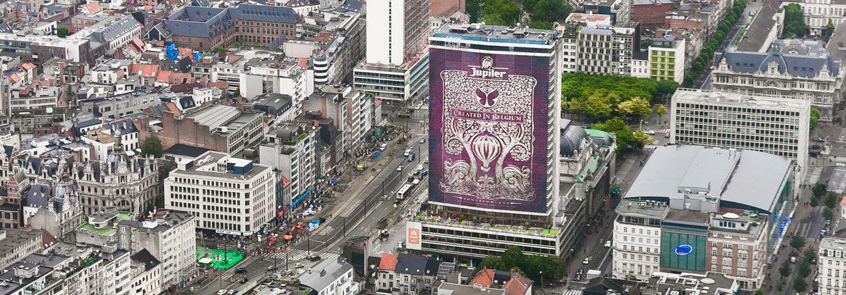 Jupiler - Tomorrowland - Antwerp Tower