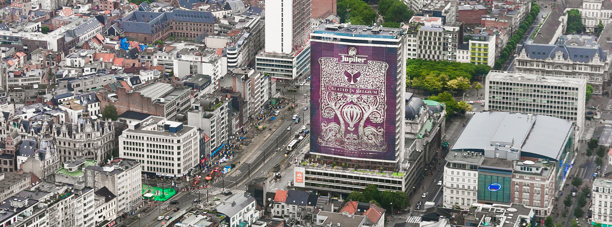 Jupiler - Tomorrowland - Antwerp Tower