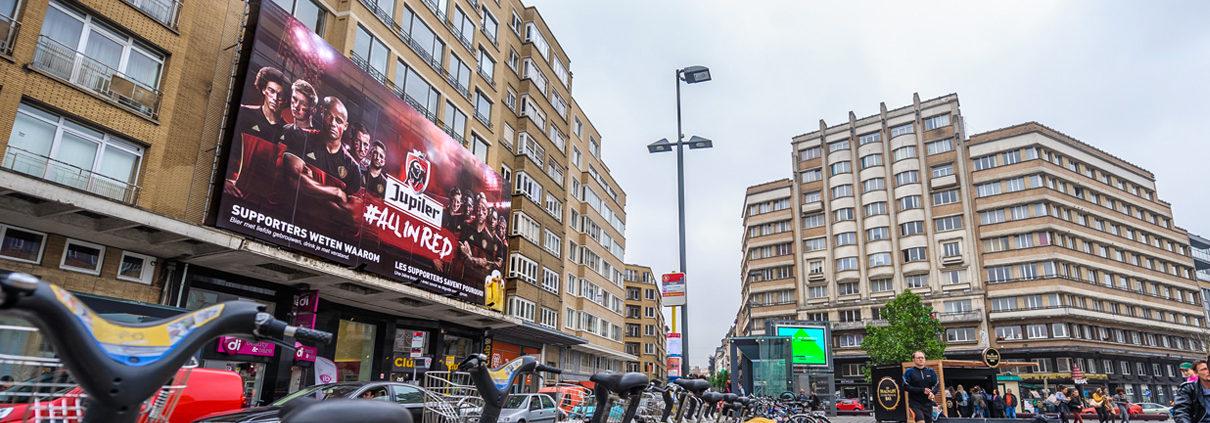 Jupiler - Pop Impact - Place Flagey - Brussels