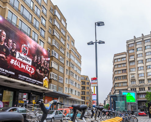 Jupiler - Pop Impact - Place Flagey - Brussels